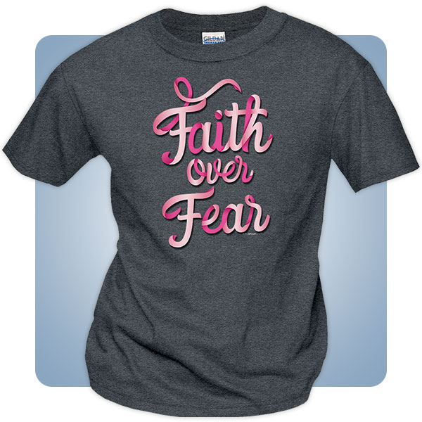 Christian Breast Cancer Awareness T-Shirts