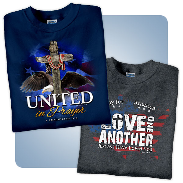 Christian T-Shirts for National Day of Prayer